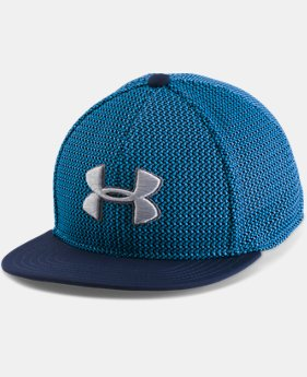 Boys' UA Twist Knit Snapback Cap   $24.99