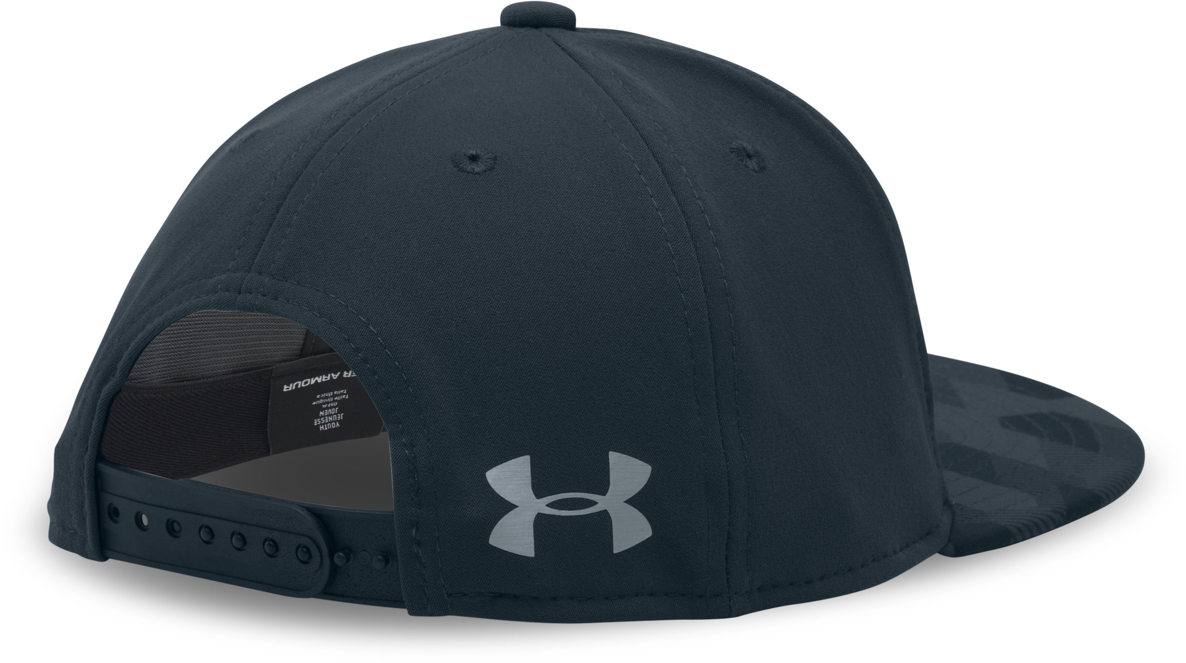 Boys' SC30 Snapback Cap, STEALTH GRAY, undefined