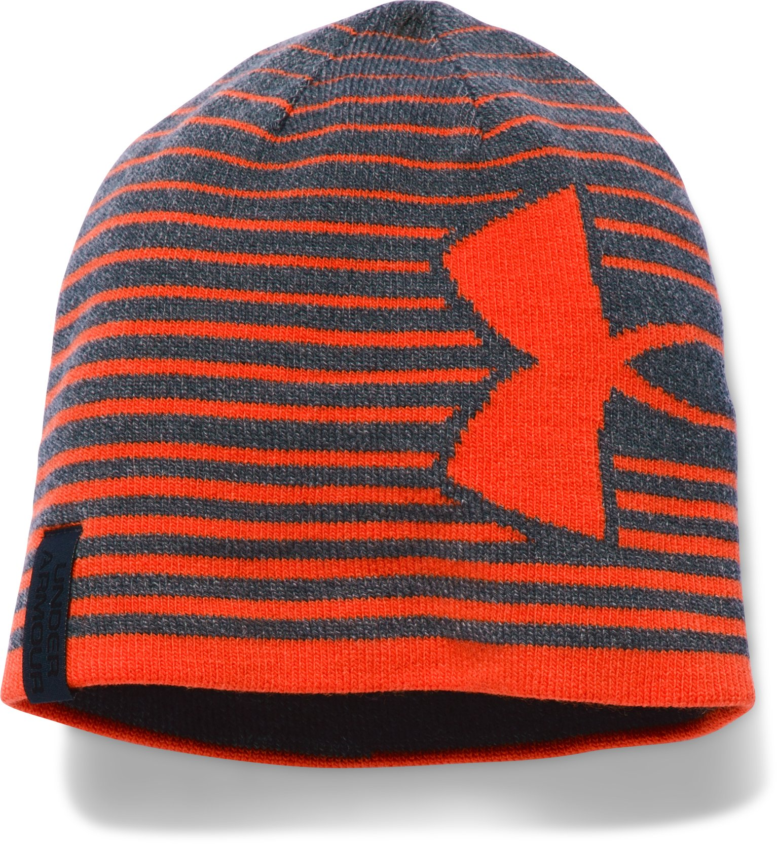 Boys' UA Billboard Beanie 2.0, STEALTH GRAY,
