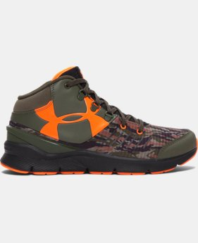 Boys' Grade School UA Overdrive Mid Combat D Shoes