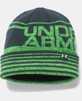 Boys' UA Cuff Billboard Beanie LIMITED TIME: FREE U.S. SHIPPING 2 Colors $18.99