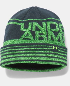 Boys' UA Cuff Billboard Beanie  2 Colors $24.99