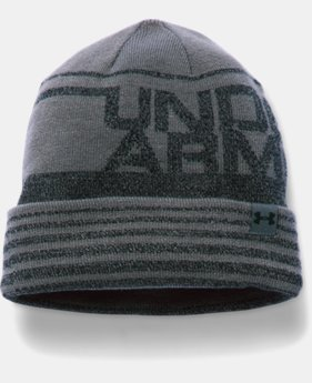 New Arrival  Boys' UA Cuff Billboard Beanie LIMITED TIME: FREE SHIPPING  $22.99