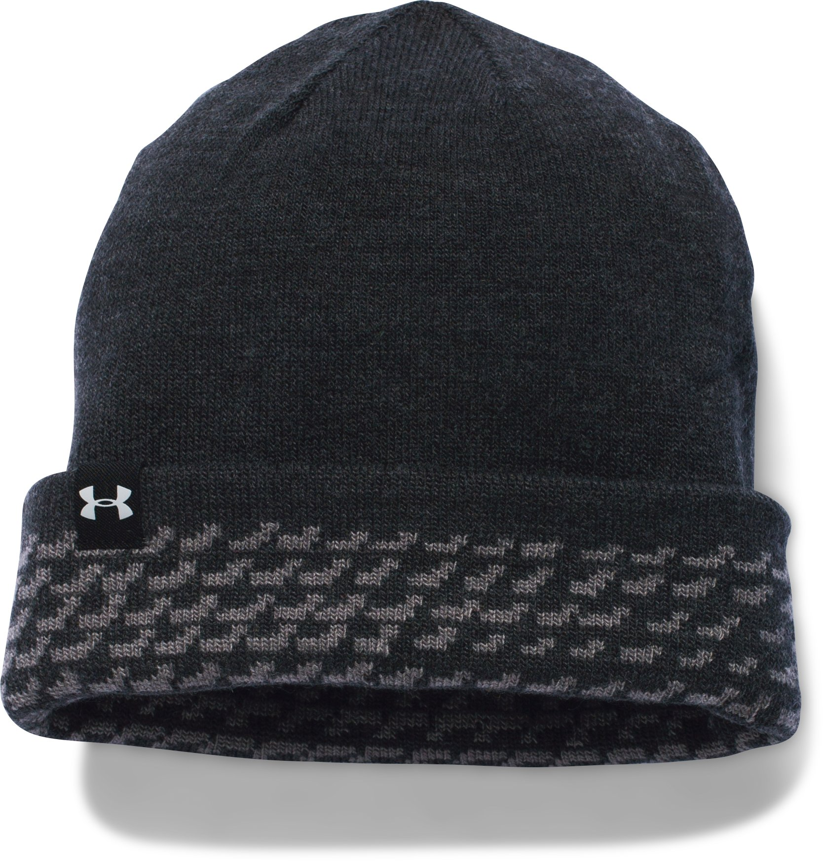 Boys' UA 4-in-1 Beanie, Graphite