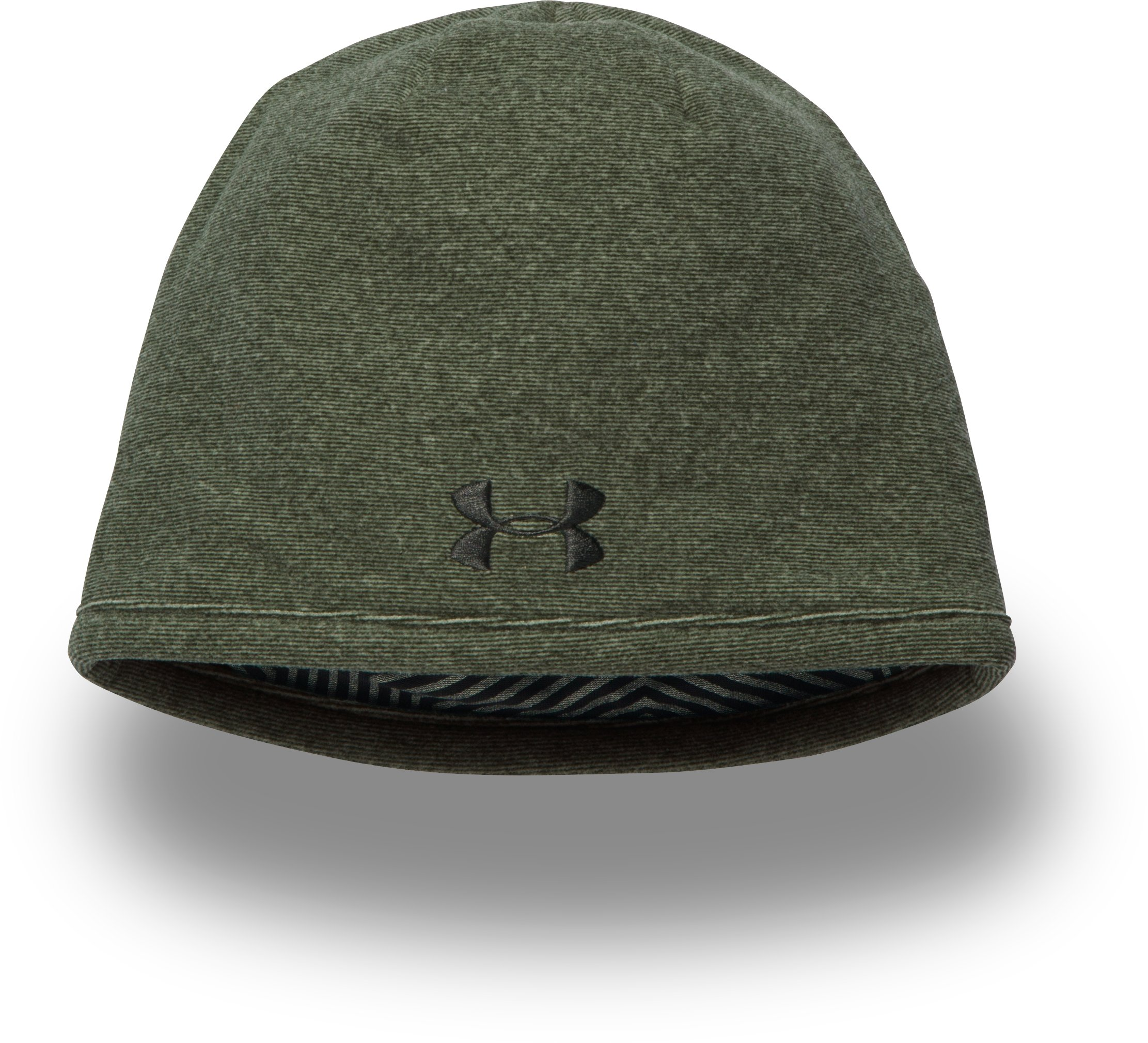 Men's UA ColdGear® Infrared Beanie, Artillery Green, zoomed image