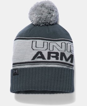 Men's UA Retro Pom Beanie  1 Color $31.99