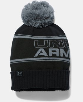 Men's UA Retro Pom Beanie LIMITED TIME: FREE U.S. SHIPPING 1 Color $27.99