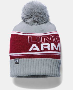 Men's UA Retro Pom Beanie LIMITED TIME: FREE U.S. SHIPPING 2 Colors $27.99