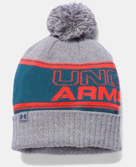 Men's UA Retro Pom Beanie  1 Color $27.99