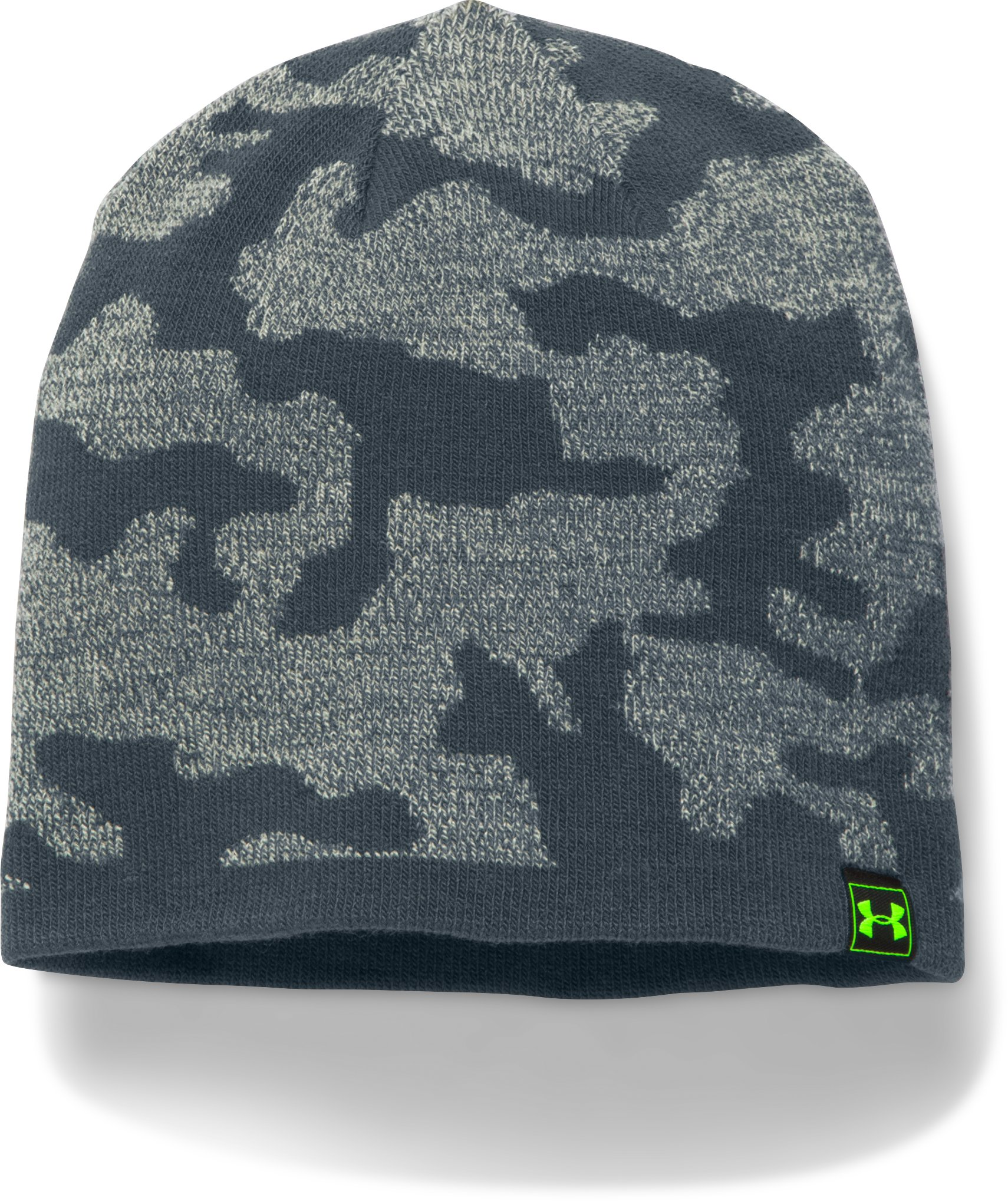Men's UA Reversible Beanie, Steel, undefined