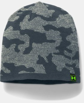 New Arrival Men's UA Reversible Beanie  4 Colors $26.99 to $34.99
