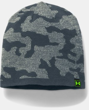 New Arrival Men's UA Reversible Beanie  4 Colors $26.99