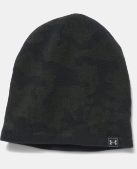 New Arrival Men's UA Reversible Beanie  2 Colors $26.99