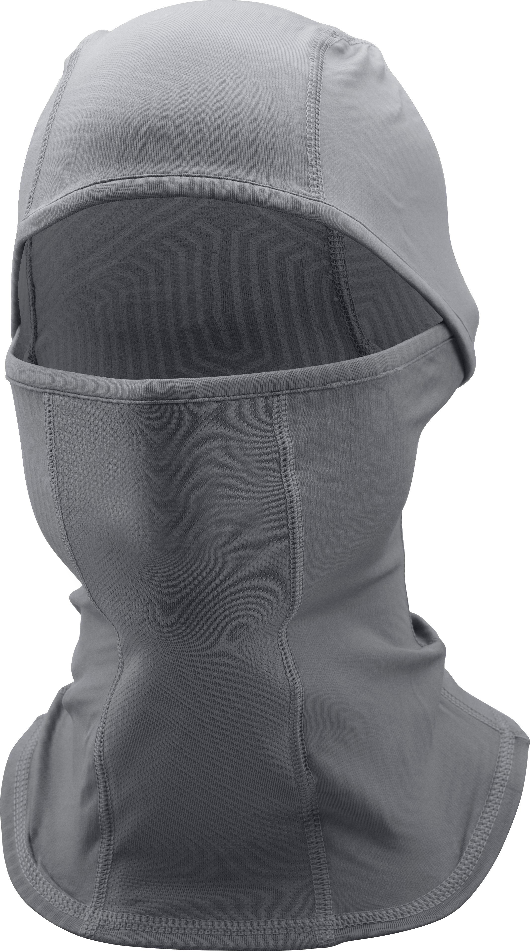 Men's UA ColdGear® Infrared Hood, Graphite, zoomed image