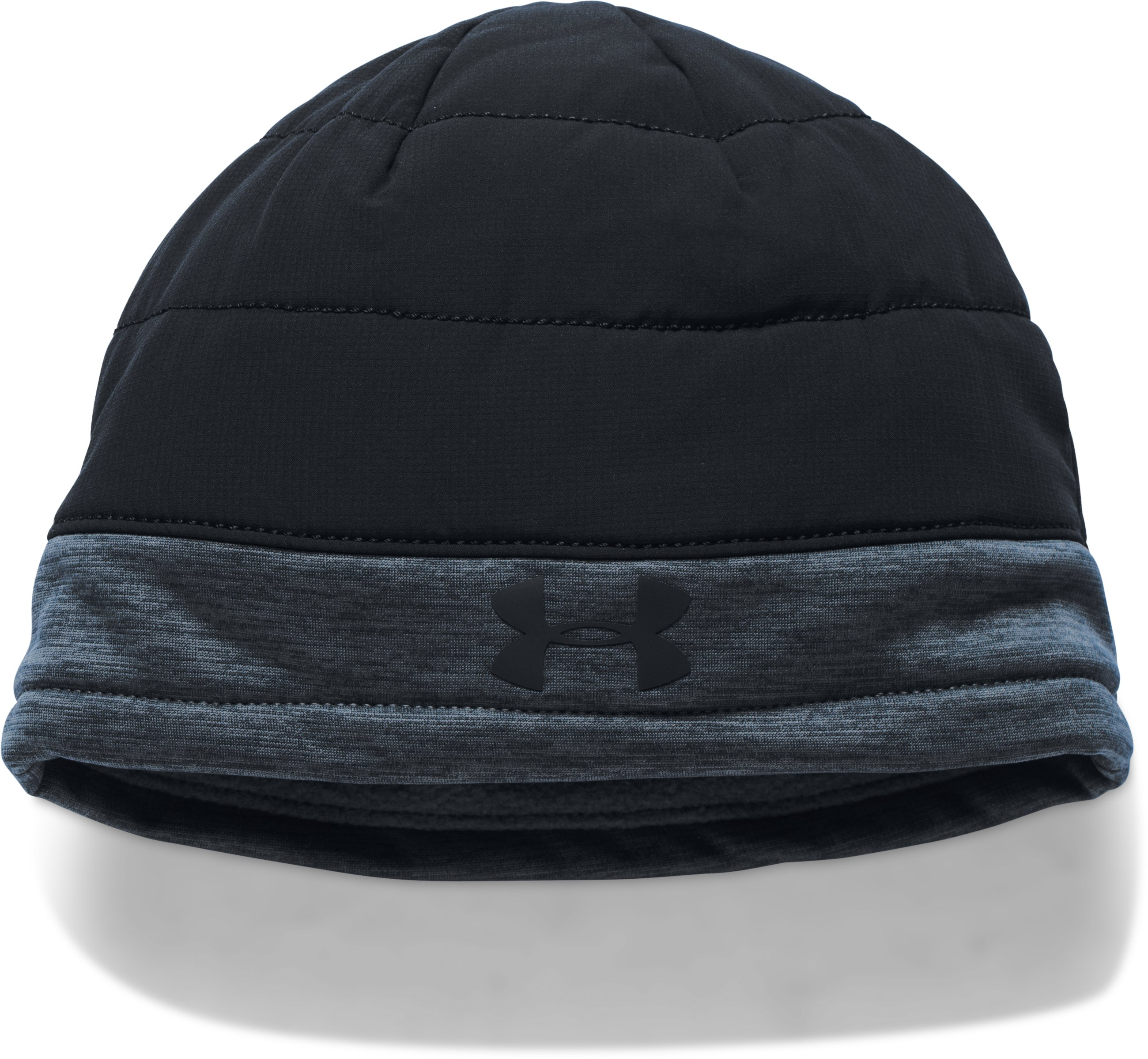 Men's UA Insulated Reversible Beanie, Black , undefined