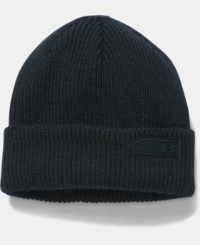 Men's UA Charged Wool Beanie  1 Color $44.99