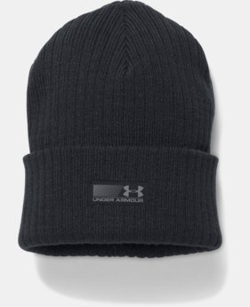 Men's UA Truck Stop Beanie LIMITED TIME OFFER 1 Color $15.39