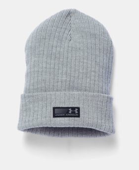 b0a0929417c Men s UA Truck Stop Beanie 1 Color Available  25.99