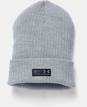 Men's UA Truck Stop Beanie  1  Color Available $25.99