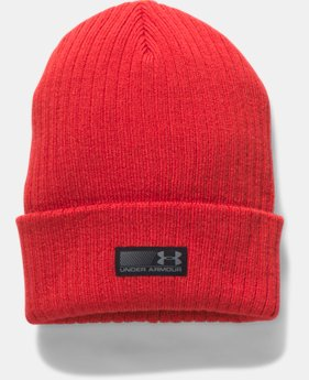 Men's UA Truck Stop Beanie  4 Colors $25.99