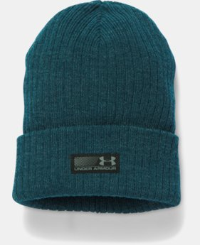 Men's UA Truck Stop Beanie  1  Color Available $11 to $16.49