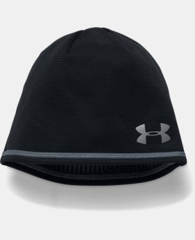Men's UA No Breaks Microthread Beanie   1 Color $27.99