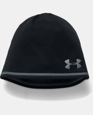 Men's UA No Breaks Microthread Beanie LIMITED TIME: FREE U.S. SHIPPING 1 Color $27.99