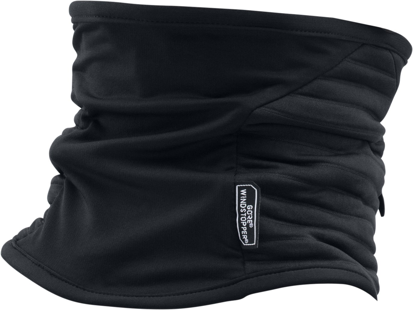 Men's UA No Breaks GORE® WINDSTOPPER® Neck Gaiter, Black , undefined