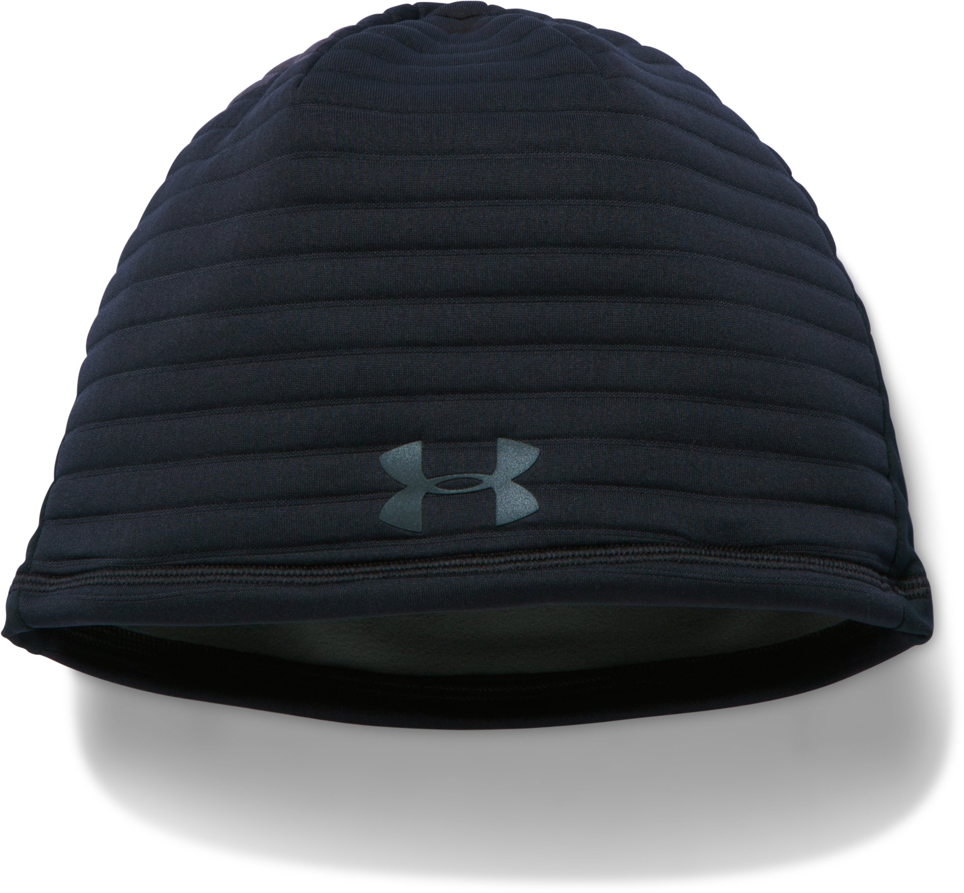 Men's UA No Breaks GORE® WINDSTOPPER® Beanie, Black
