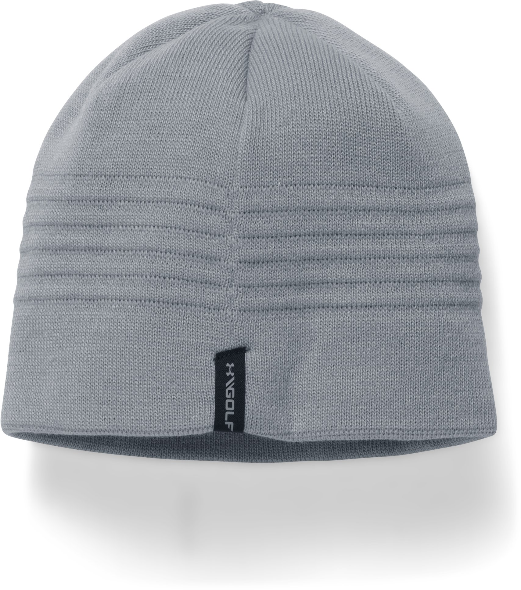 Men's UA Tonal Golf Beanie, Steel, undefined