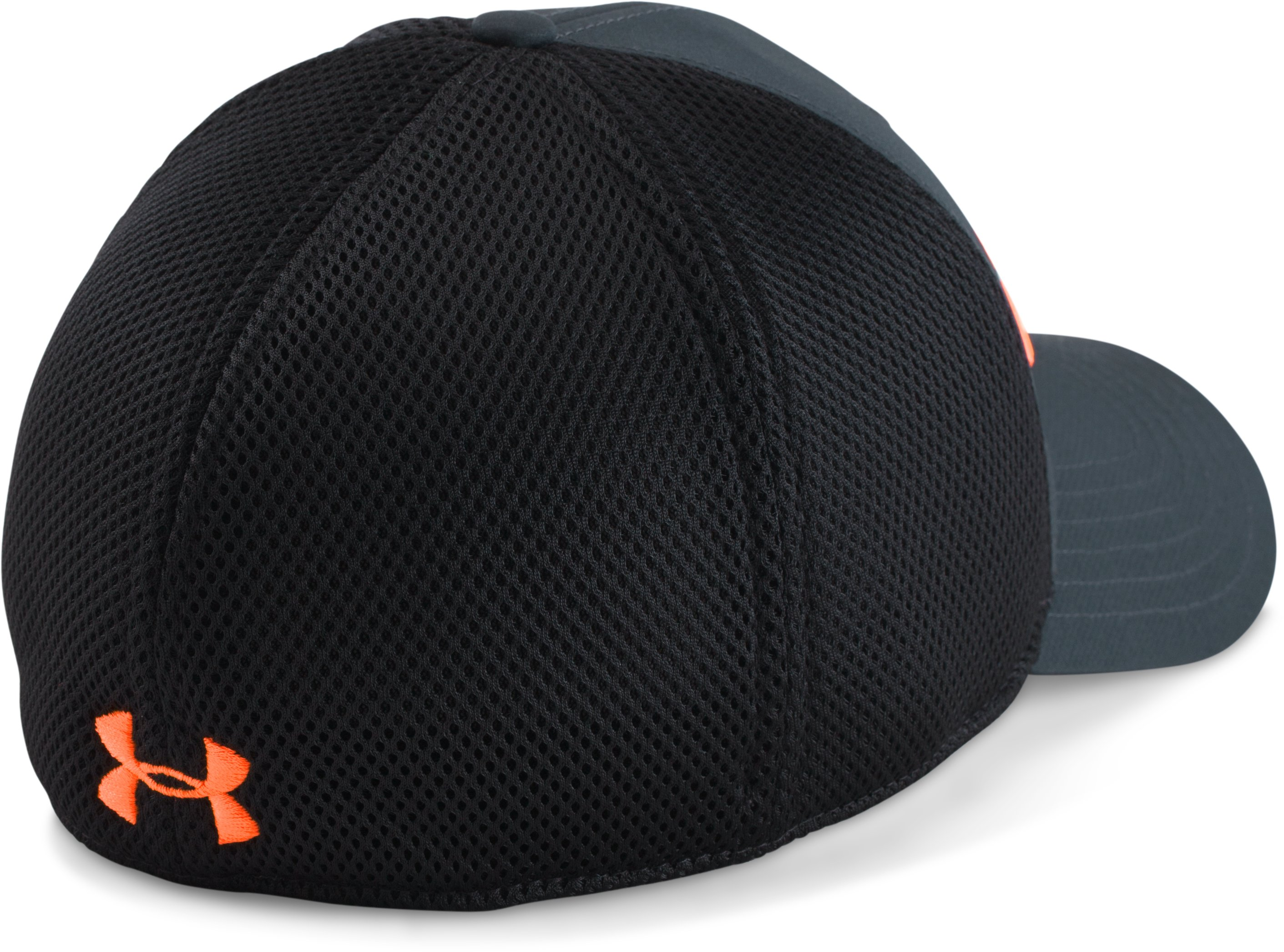 Men's UA Sportstyle Mesh Cap, ANTHRACITE, undefined