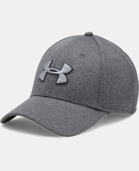 Men's UA Heathered Blitzing Cap  1  Color Available $25.99