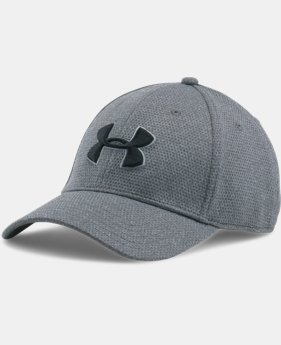 New Arrival Men's UA Heathered Blitzing Cap  1 Color $19.99 to $25.99