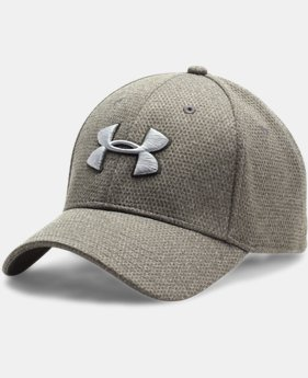 Men's UA Heathered Blitzing Cap  1 Color $16.49