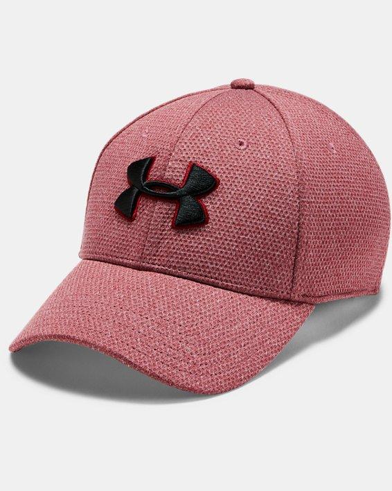 Men's UA Heathered Blitzing Cap, Red, pdpMainDesktop image number 0