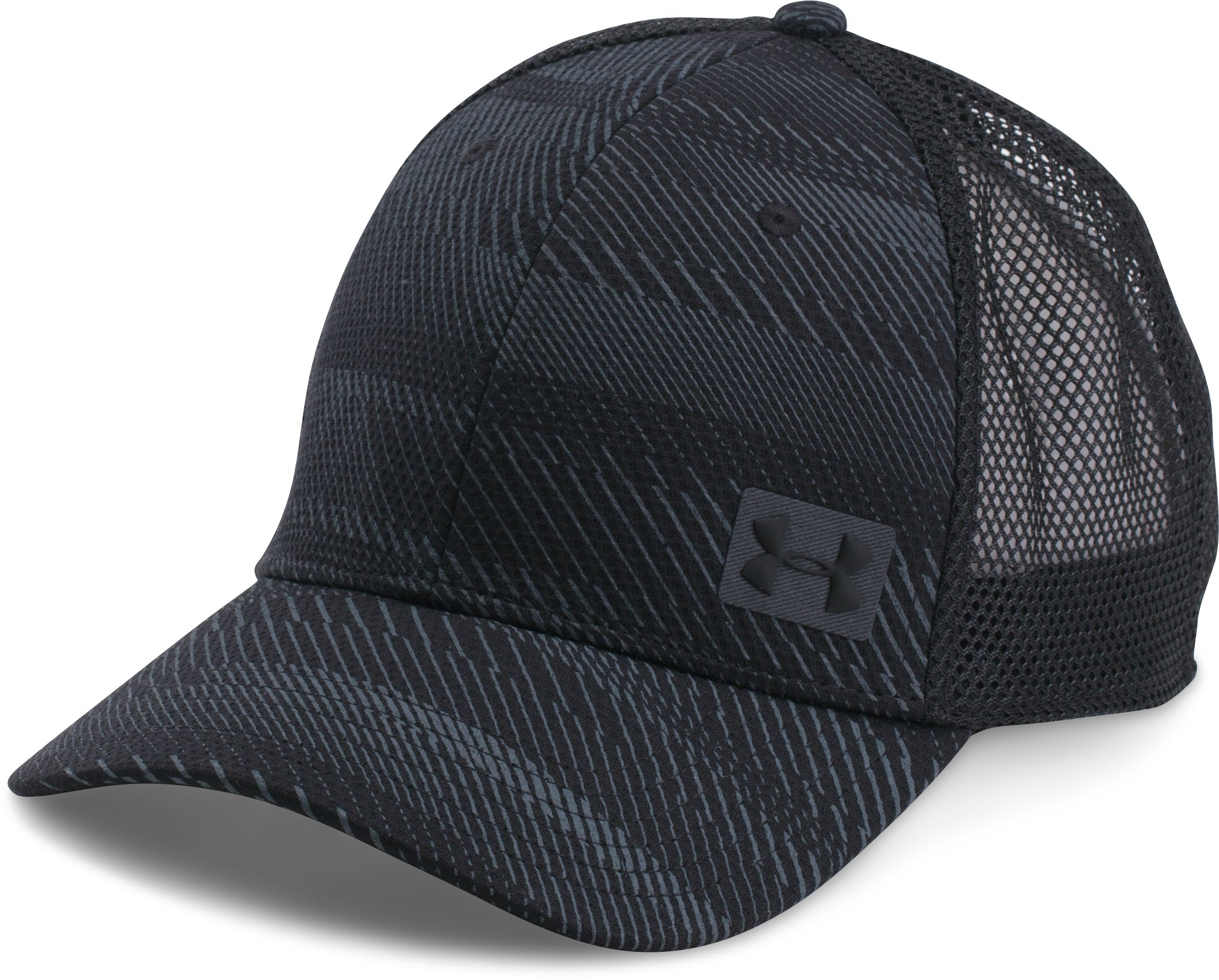 Men's UA Blitz Trucker Cap, Black ,