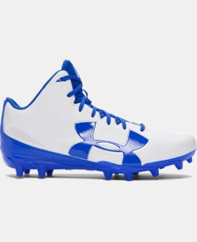 Men's UA Fierce Phantom Mid MC Football Cleats   $41.99