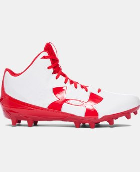 Men's UA Fierce Phantom Mid MC Football Cleats   $52.99