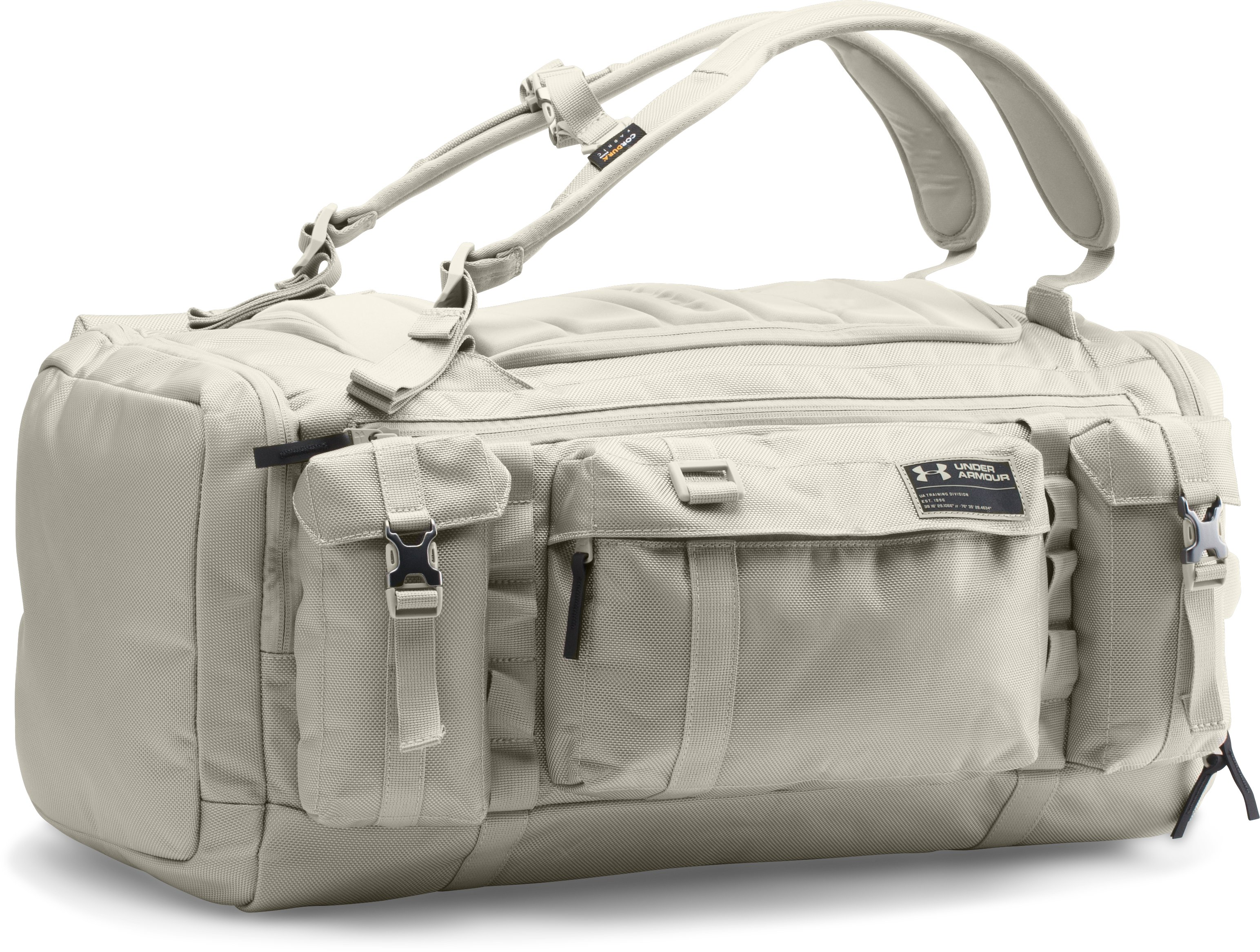 camp duffles Men's UA CORDURA® Range Duffle Glad I went with this bag....This bag has everything you would want except one crucial feature....Best duffle I've ever owned.