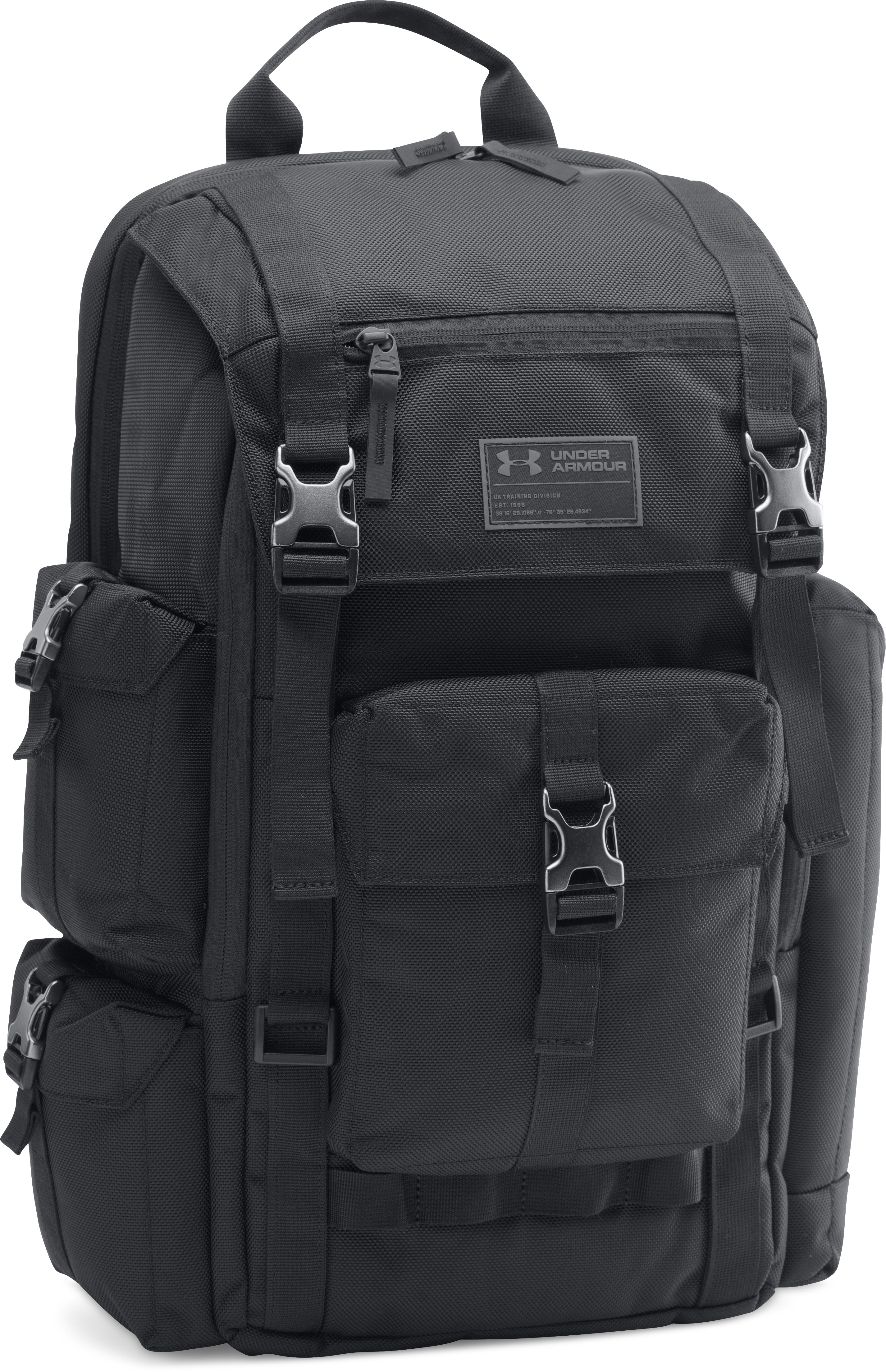 Men's UA CORDURA® Regiment Backpack, Black , zoomed image