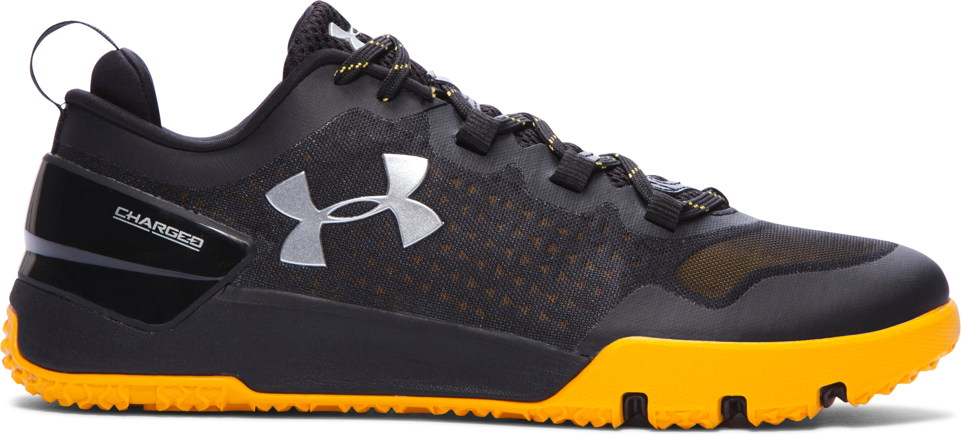 Men's UA Charged Ultimate Team Training Shoes, Black , zoomed image