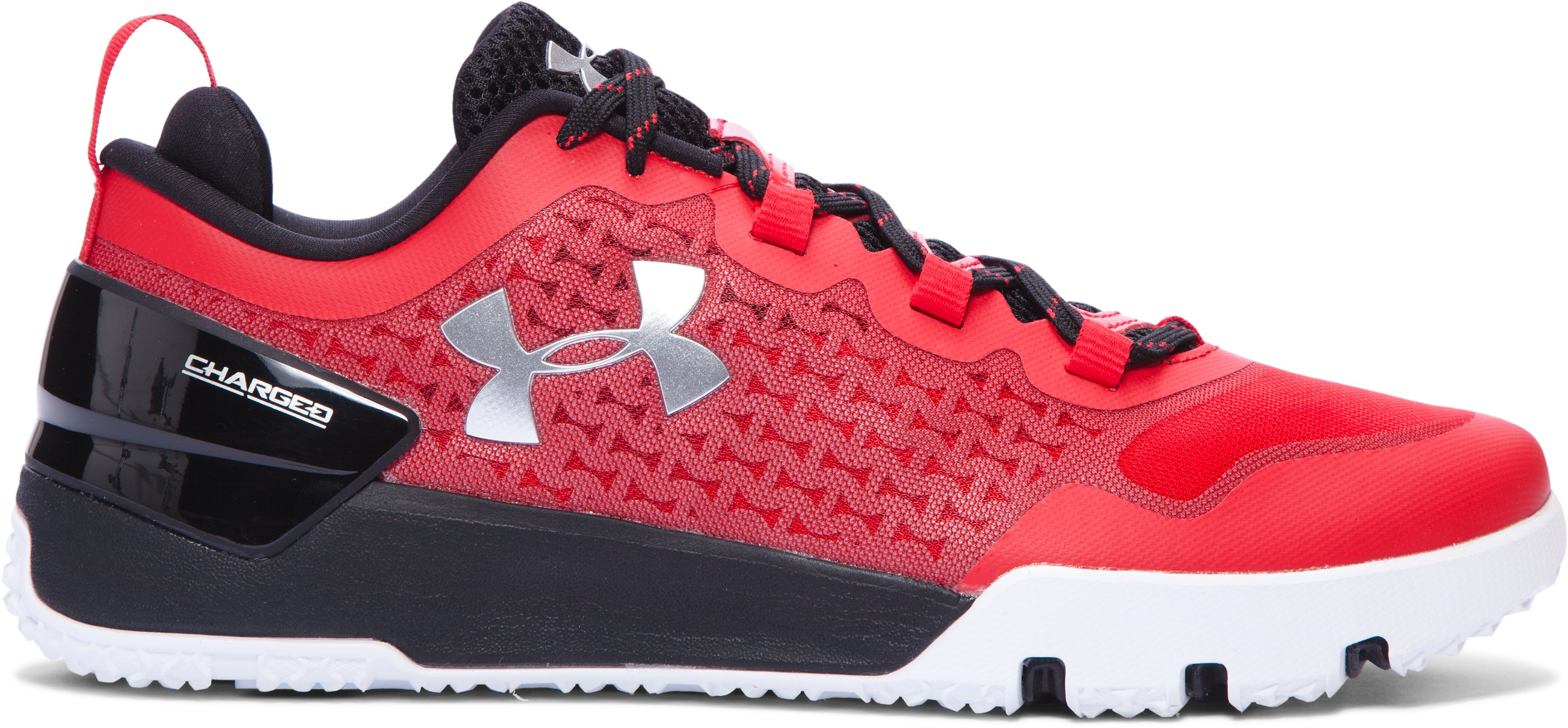 Men's UA Charged Ultimate Team Training Shoes, Red, zoomed image