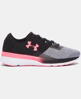 New Arrival Girls' Grade School UA Tempo TCK Running Shoes   $74.99