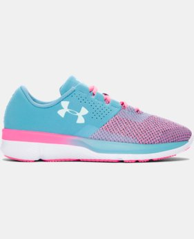 Girls' Grade School UA Tempo TCK Running Shoes  1 Color $74.99