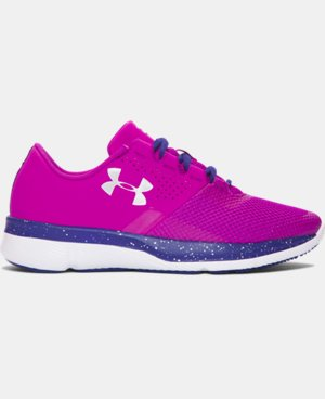 Girls' Grade School UA Tempo Speckle Running Shoes LIMITED TIME: FREE U.S. SHIPPING  $74.99