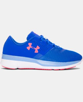 Girls' Grade School UA Tempo Speckle Running Shoes   $56.99
