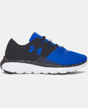 Boys' Grade School UA Fortis 2 Speckle Running Shoes LIMITED TIME: FREE U.S. SHIPPING  $77.99