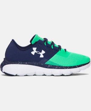 Boys' Grade School UA Fortis 2 Speckle Running Shoes LIMITED TIME: FREE U.S. SHIPPING 1 Color $77.99