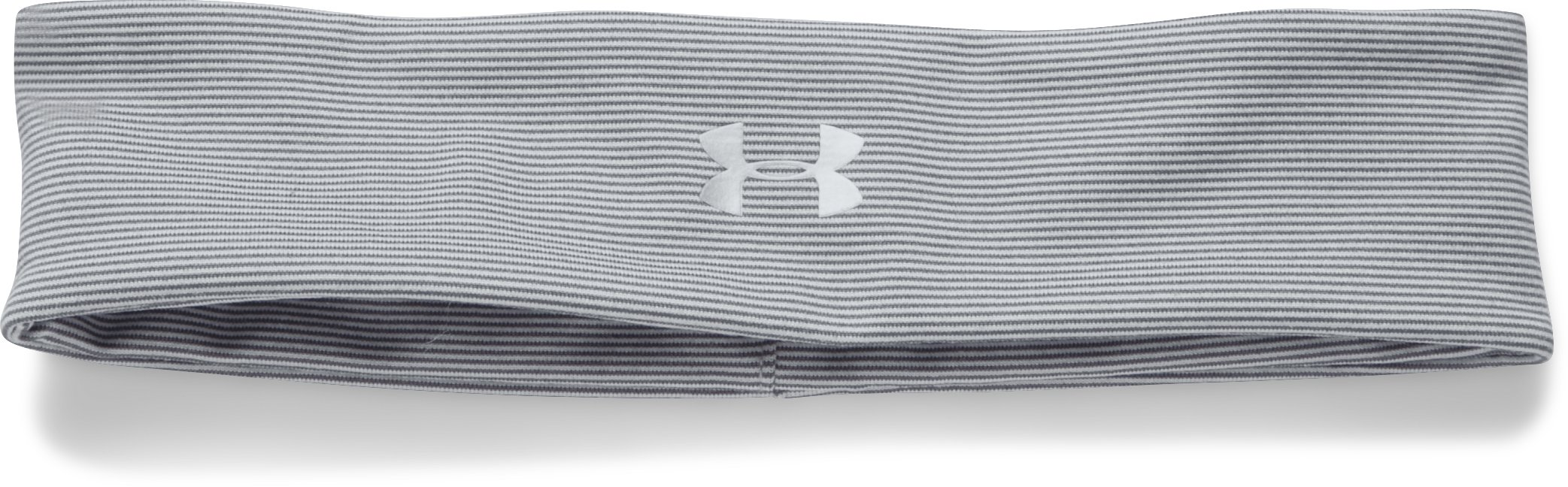 Women's UA Studio Performance Headband, GRAY AREA