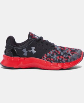 Boys' Pre-School UA Flow Digi Camo Running Shoes  1 Color $41.99